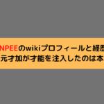 PUNPEEのwikiプロフィールと経歴!妻秋元才加が才能を注入したのは本当?